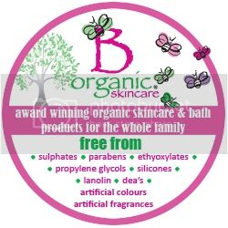 B Organic Skincare. Award winning organic skincare and bath products for the whole family