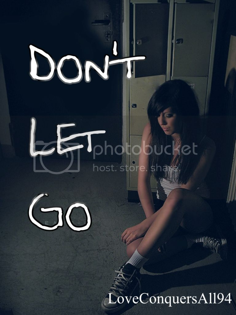 Don't let go, cover for new story